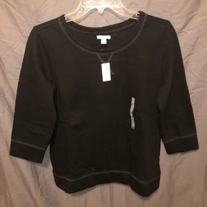 New with tags old navy 3/4 sleeve crew neck